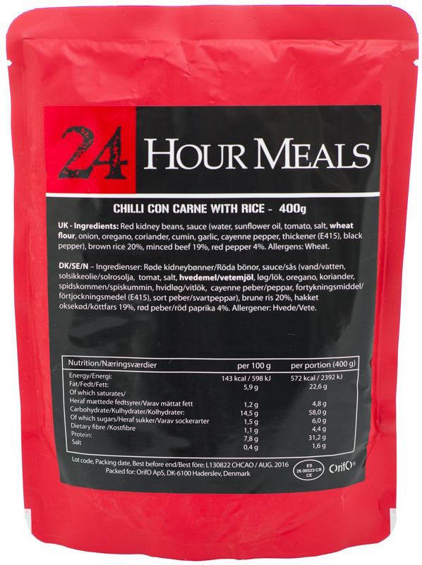 24 Hour Meals